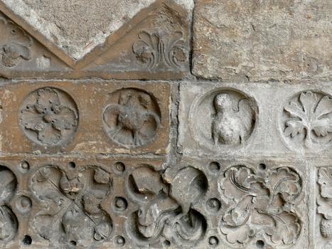 Cathédrale Notre-Dame de Sées - Sculptures du portail de droite