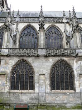 Alençon - Eglise Notre-Dame - Extérieur - Nef - Elévation