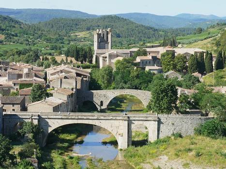 Orbieubrücke Lagrasse & Pont des Auzines & Abbaye Sainte-Marie d'Orbieu