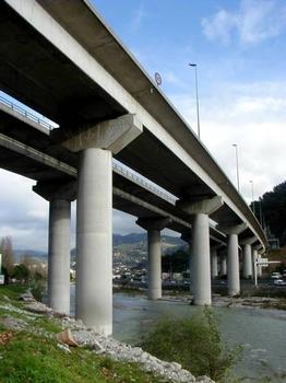 Viaduc du Paillon (Autoroute A8)