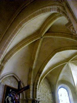 Une des plus anciennes voûte gothique de Paris