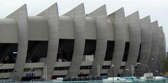 Stade du Parc des Princes, Paris.Portiques