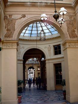 Galerie Vivienne - Galerie et rotonde