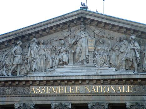 Nationalversammlung, Paris.
