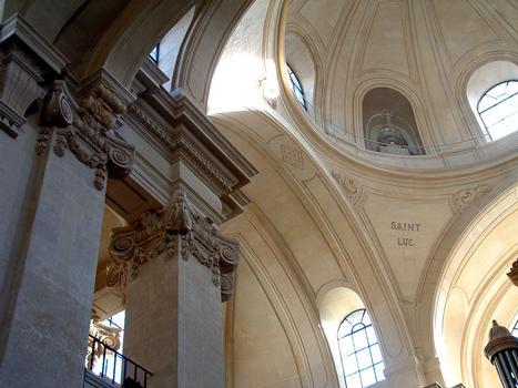 Temple de Pentemont (ancienne abbaye de Pentemont) - Coupole