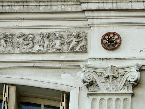 Paris 10ème arrondissement - Immeuble 9 rue Fénelon - Atelier François Gillet