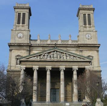 Paris 10 ème arrondissement - Eglise Saint-Vincent-de-Paul