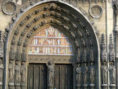 Paris 10ème arrondissement - Eglise Saint-Laurent - Portail central