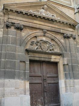 Paris 10ème arrondissement - Eglise Saint-Laurent - Portail du transept nord