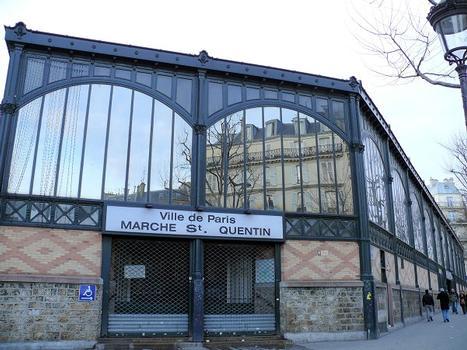 Paris 10ème arrondissement - Marché Saint-Quentin