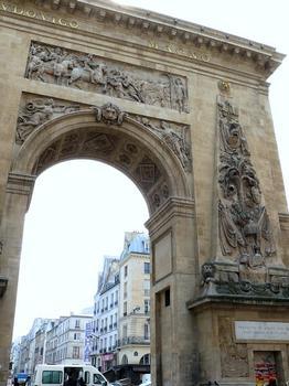 Paris 10ème arrondissement - Porte Saint-Denis - Côté nord