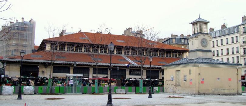Paris 12 ème arrondissement - Marché couvert Beauvau