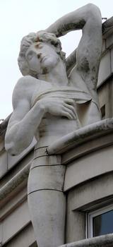 Paris 12 ème arrondissement - Immeuble 23 rue de Rambouillet et commissariat de police