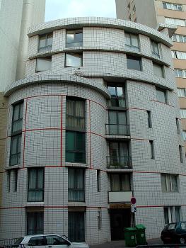 Paris 13 - 120 rue du Château-des-Rentiers
