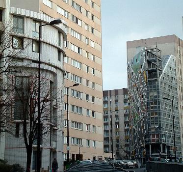 Paris 13 - Rue du Château-des-Rentiers - Christian de Portzamparc et Architecture Studio