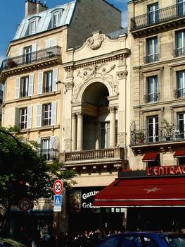 Paris - Théâtre des Gobelins - Façade avenue des Gobelins