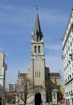 Paris 15ème arrondissement - Eglise Saint-Lambert de Vaugirard
