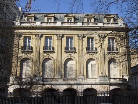 Paris 16ème arrondissement - Hôtel Blumenthal-Montmorency au 34 avenue Foch par l'architecte Henri-Paul Nénot : Paris 16 ème arrondissement - Hôtel Blumenthal-Montmorency au 34 avenue Foch par l'architecte Henri-Paul Nénot