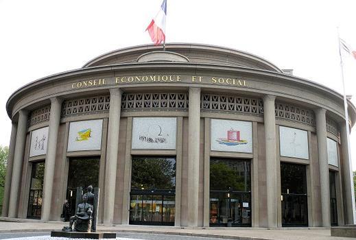 Paris 16ème arrondissement - Conseil économique et social (ancien musée des Travaux publics) : Paris 16 ème arrondissement - Conseil économique et social (ancien musée des Travaux publics)