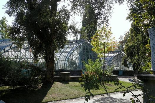 Paris 16ème arrondissement - Serres du fleuriste municipal - Serres courantes