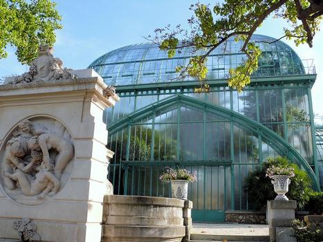 Paris 16ème arrondissement - Serres du fleuriste municipal