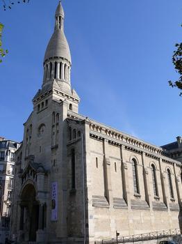 Paris 16ème arrondissement - Eglise Notre-Dame-d'Auteuil