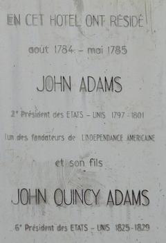 Paris 16SUP>ème arrondissement - Hôtel de Verrières - Plaque commémorative