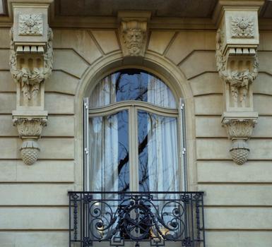 Paris 16ème arrondissement - 91 rue Henri-Martin - Construit par E. Picard et Gustave Umbdenstock : Paris 16 ème arrondissement - 91 rue Henri-Martin - Construit par E. Picard et Gustave Umbdenstock