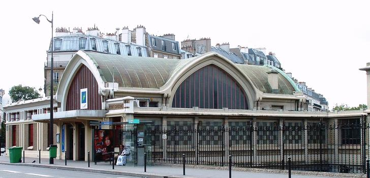 Pont-Cardinet Station, Paris