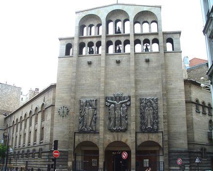 Paris 17ème arrondissement - Eglise Saint-Ferdinand-des-Ternes - Ensemble