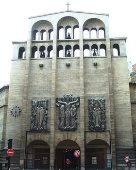 Paris 17ème arrondissement - Eglise Saint-Ferdinand-des-Ternes - Façade