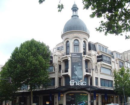 Paris - Anciens Magasins Réunis Toile (FNAC Ternes)