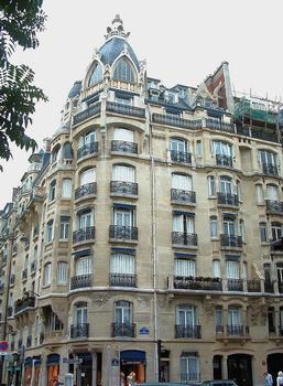 Paris 17ème arrondissement - Immeuble 132-134 rue de Courcelles
