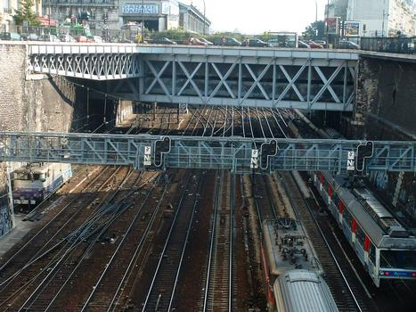 Brücke am Boulevard des Batignolles