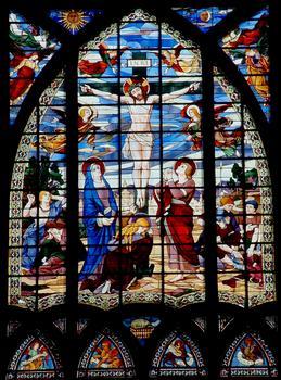 Eglise Saint-Jean-de-Montmartre - Vitrail du choeur