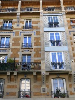 Paris 18 ème arrondissement - Immeuble 153 rue Lamarck