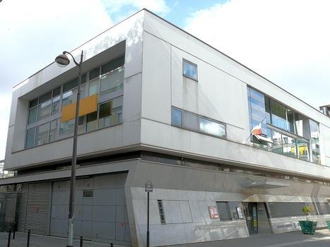 Paris 18ème arrondissement - Ecole matenelle Moskowa