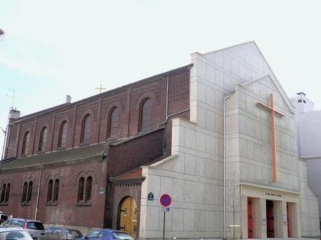 Paris 18ème arrondissement - Eglise Sainte-Hélène