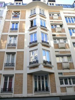 Paris 18 ème arrondissement - Immeuble 7 rue de Trétaigne