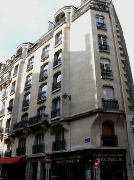Paris 18ème arrondissement - Immeuble 17 rue Damremont