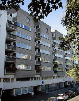 Paris 19ème arrondissement - Immeuble 55 quai de la Seine