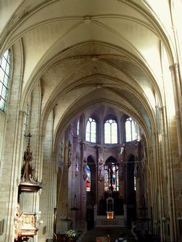 Paris - Eglise Saint-Leu-Saint-Gilles - Vaisseau central
