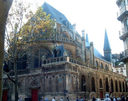 Paris - Eglise Saint-Leu-Saint-Gilles - Chevet sur le boulevard de Sébastopol