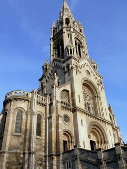 Paris 20ème arrondissement - Eglise Notre-Dame de la Croix