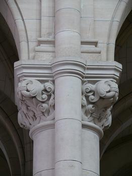 Paris 20ème arrondissement - Eglise Notre-Dame de la Croix - Nef