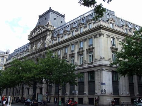 Immeuble du Crédit Lyonnais - 17-23 boulevard des Italiens - Façade du boulevard des Italiens