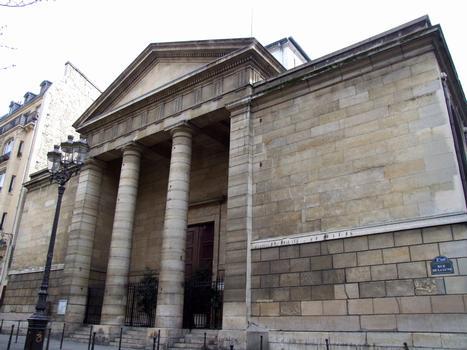 Paris - 2 ème arrondissement - Eglise Notre-Dame-de-Bonne-Nouvelle - Façade