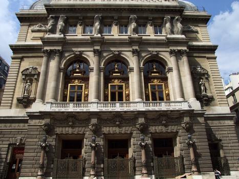 Opéra comique - Façade place Boieldieu