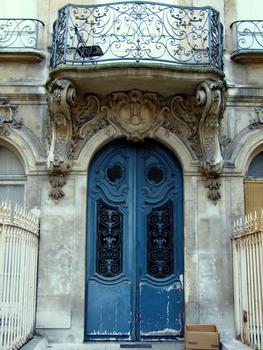 Paris 2ème arrondissement - Hôtel dans la cour du 226 rue Saint-Denis