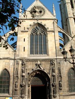 Paris - Eglise Saint-Nicolas-des-Champs (254, rue Saint-Martin) - Portail occidental